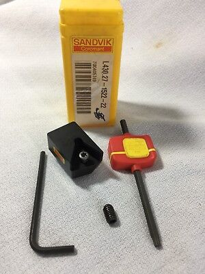 New Sandvik L430.27-1522-22 Indexable Insert Holder Central Cartridge Drilling