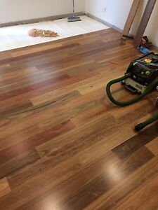 Boral timber flooring spotted gum 1 strip Queens Park Eastern Suburbs Preview