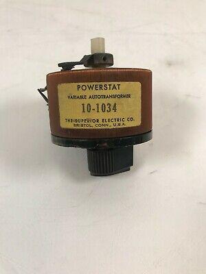 Powerstat 10-1034 Variable Autotransformer