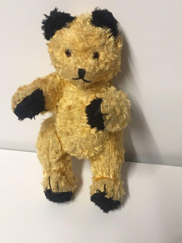 Vintage Jointed Teddy Bear Plush 8
