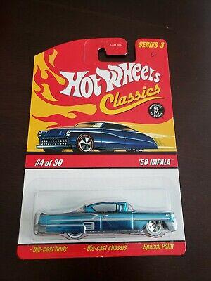 Hot Wheels '58 IMPALA Classics Series 3  #4/30 Blue