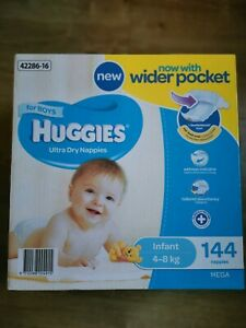 Huggies Nappies for Boys infant size 2