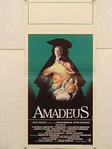 AMADEUS biografico (Mozart) Locandina originale 1985 - Italia - L'oggetto può essere restituito - Italia