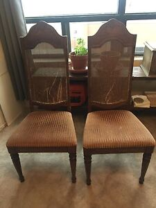 Matching vintage chairs - $20 for the pair!