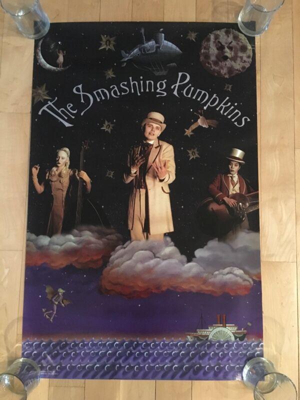 The Smashing Pumpkins Original Tonight, Tonight Poster, 1996, Billy Corgan