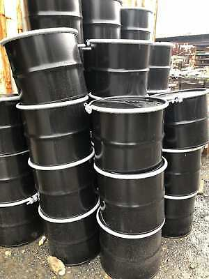 17 Gallon Hd Carbon Steel Drum Barrel W Cover Lid Bolt Ring - New