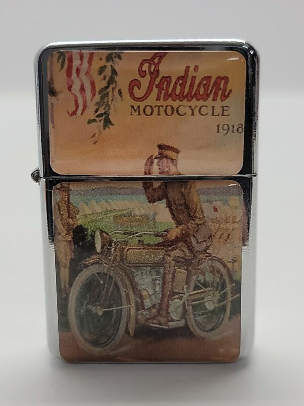 Lighter Off Brand Indian Motorcycle 1918 Unfired
