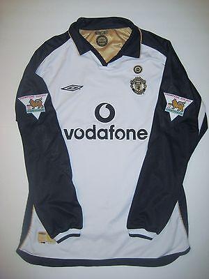 Umbro Manchester United David Beckham Centernary Jersey Shirt Long Sleeve 2001