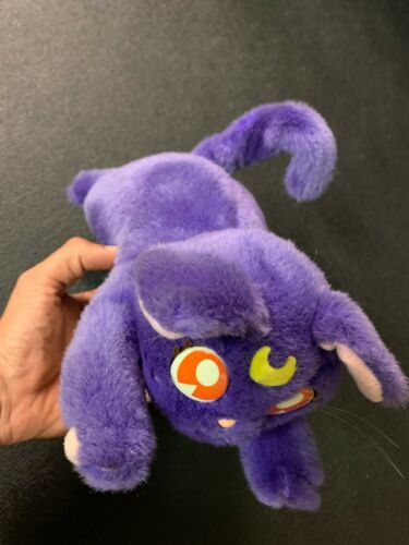 Sailor Moon Talking Luna Plush Bandai 1994 Moves and talks Tested Works