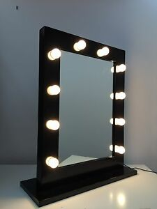 hollywood makeup mirror with lights vanity make up beauty mirror dressing room. Black Bedroom Furniture Sets. Home Design Ideas