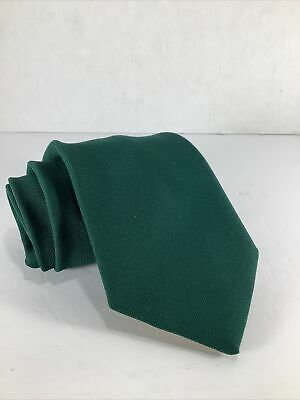 1960s – 70s Men's Ties | Skinny Ties, Slim Ties Men's 100% Dacron Polyester Green Neck Tie By Clover~ Employee/ Holiday 1960's $10.00 AT vintagedancer.com