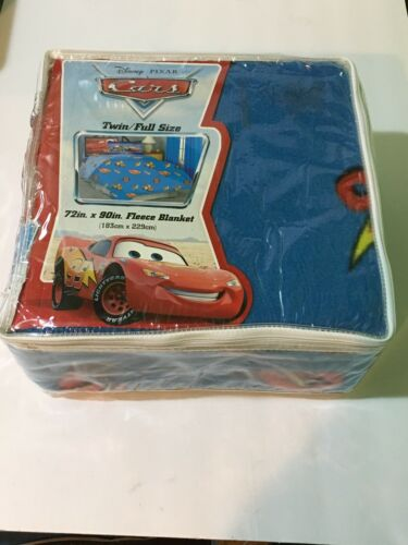 cars blanket twin full sized fleece bedspread