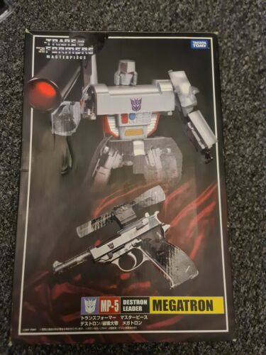 Takara TOMY Transformers Masterpiece MP-05G MP05G Megatron Action Figure Robots