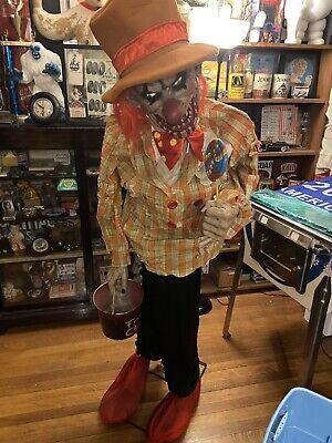 Halloween prop animated Uncle Charlie Animatronic Original! As Is . Spirit