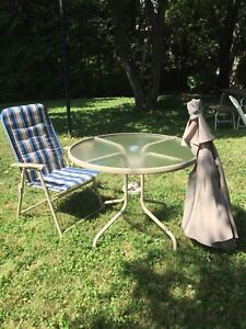 6 piece brand new patio set