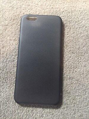 Frosted Plastic Case - APPLE IPHONE 6 Black   Frosted Plastic Snap On Back Case