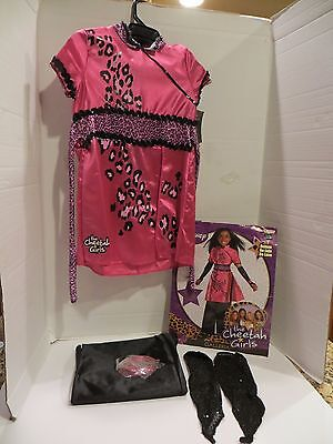 DISNEY CHEETAH GIRLS  DRESS COSTUME - 4/6X (Cheetah Costume)