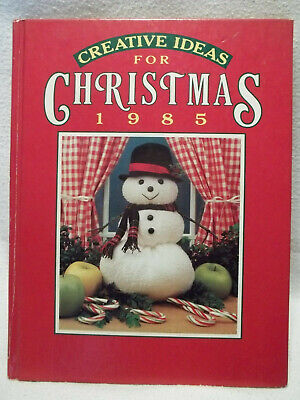 Creative Ideas for Christmas Patterns 1985 Crafts Family Vintage Recipes Ideas - Ideas For Christmas