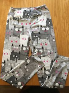 Fabulegs cat leggings size medium (8 -10) new, never worn