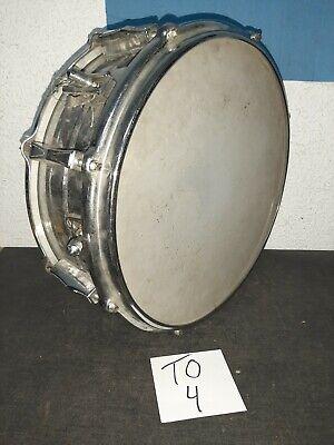 Schöne Trommel-Blechtrommel Durchmesser ca 37 cm Höhe ca 15 cm  (TO4)