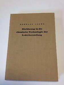 Einführung in die chemische Technologie der Lederherstellung