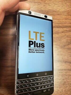 BlackBerry KeyONE (BBB100-3) 32GB Silver - Smartphone - GOOD CONDITION