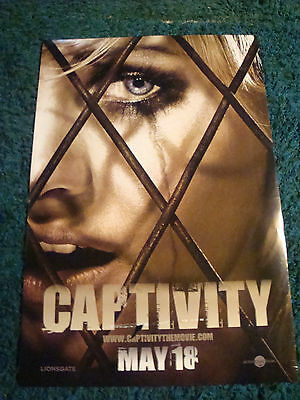CAPTIVITY - MOVIE POSTER WITH ELISHA CUTHBERT
