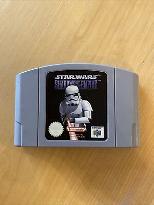 Star Wars Shadows Of The Empire Modul Cartridge N64 Nintendo 64 Sammlung Lot Pal