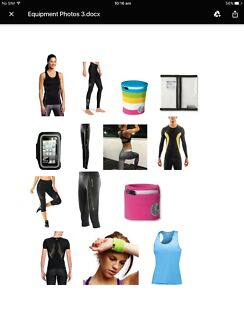 Huge New & Display Fitness Clothing & Accessories