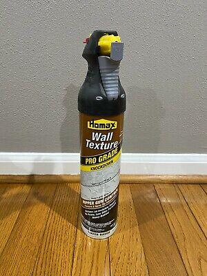 Homax 4565 Pro Grade Water Based 25oz Spray Wall Texture Knockdown New