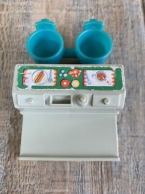 Fisher Price Little People Sesame Street Mr Hooper Lunch Counter #938