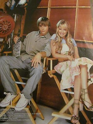 High School Musical, Zac Efron, Ashley Tisdale, Full Page Pinup