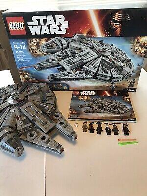 LEGO Star Wars Millennium Falcon (75105) 100% Complete All Mini figures RARE