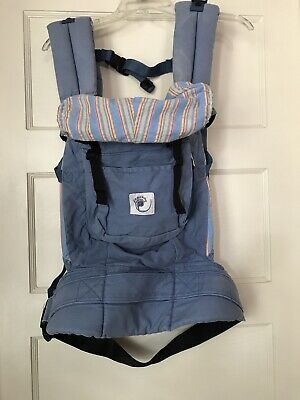 Ergo Baby Carrier Infant Toddler Baby Light Blue Lumbar Original