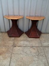 Very unusual timber/bamboo tables. Underdale West Torrens Area Preview