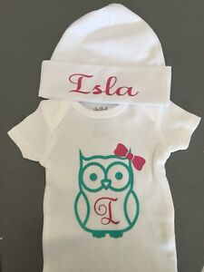 Customized baby onsie