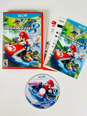 Mario Kart 8 (Nintendo Wii U, 2014) CIB, Authentic, Tested