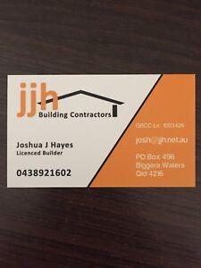 Licensed Builder and Carpenter