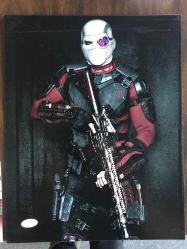 Suicide Squad Deadshot Will Smith Autographed Signed 11x14 Photo JSA COA #1