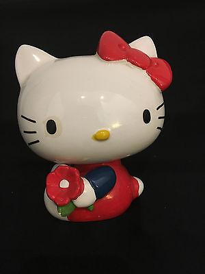 Hello Kitty ceramic piggy bank - vintage