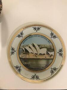 Sydney Opera House Opening 1973 Plate