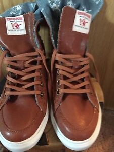 True Religion brand brown leather high tops size 7.5 only $50
