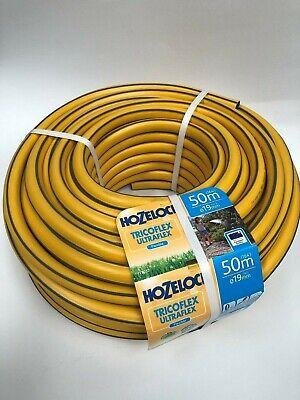 Hozelock Tricoflex Ultraflex Yellow Hose 50m x 19mm (3/4'')