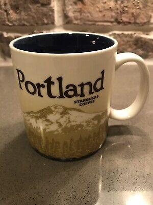 2011 Portland Oregon Starbucks Coffee Cup Mug Global Icon Collection