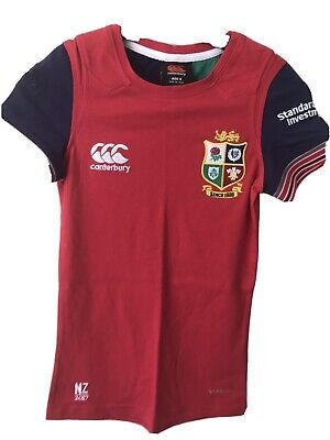 Boys Great British Lions Rugby 2017 (New Zealand Tour) T-shirt age 8 Slim Fit