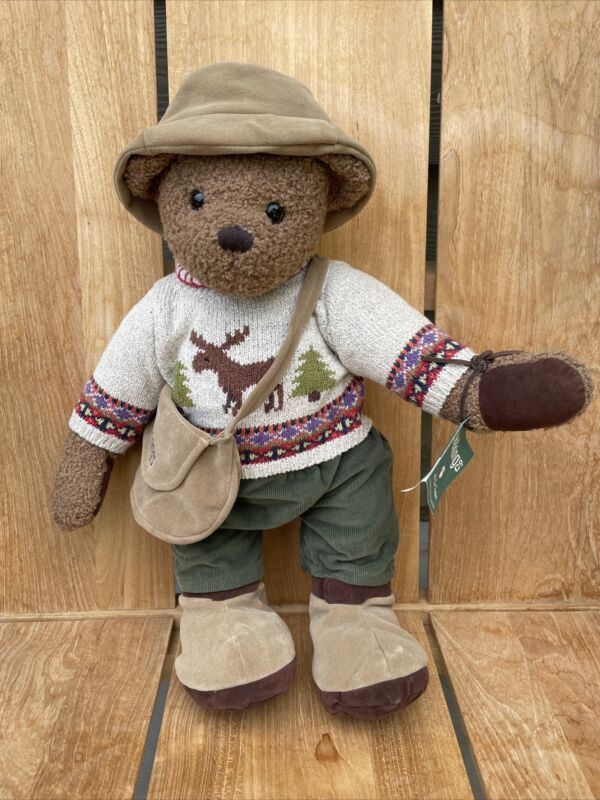 TRACKER The Teddy Bear WALKING CO COMPANY Limited Edition Numbered #217/1250