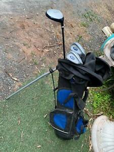 Junior kids Golf bag and clubs