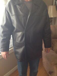 Men's Danier Leather Jacket, size large