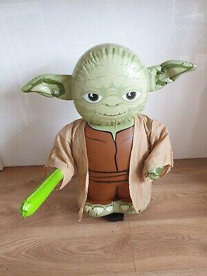 Stars Wars Yoda Jumbo Inflatable Remote Control in good working order.