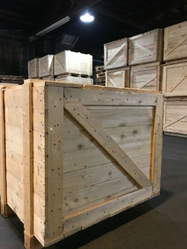 """Shipping Crates Wood ,""""Used"""" ISPM 15 certified"""